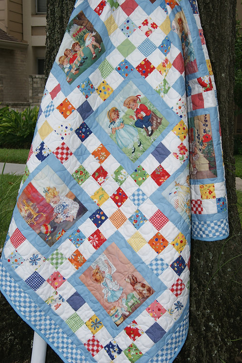 CHARMED STORY TIME Charm Panel Quilt Pattern