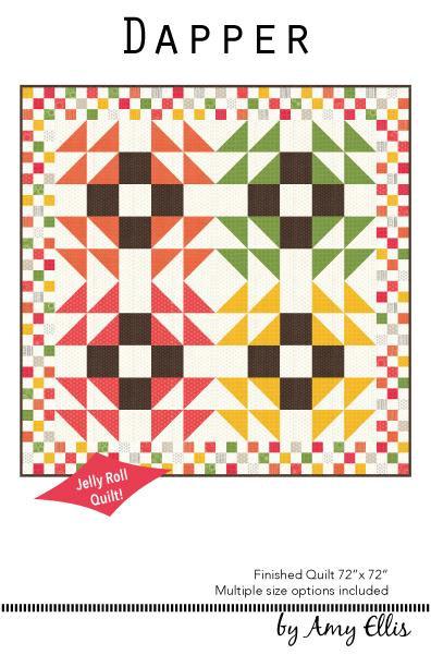 Amy Elllis DAPPER Jelly Roll Pattern