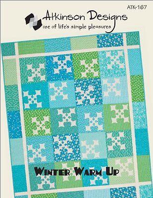 Atkinsons Designs WINTER WARM-UP Charm Pattern