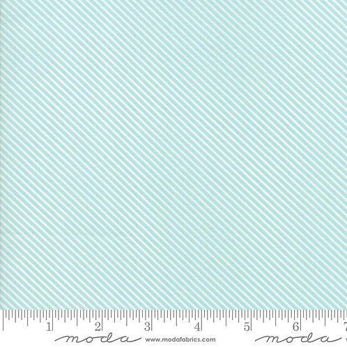 Garden Variety 5075 13 Light Blue Diagonal Stripe Moda Lella Boutique