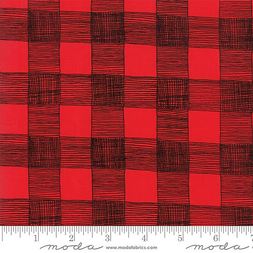 Farm Fresh 48265 15 Red Black Check Plaid Gingiber