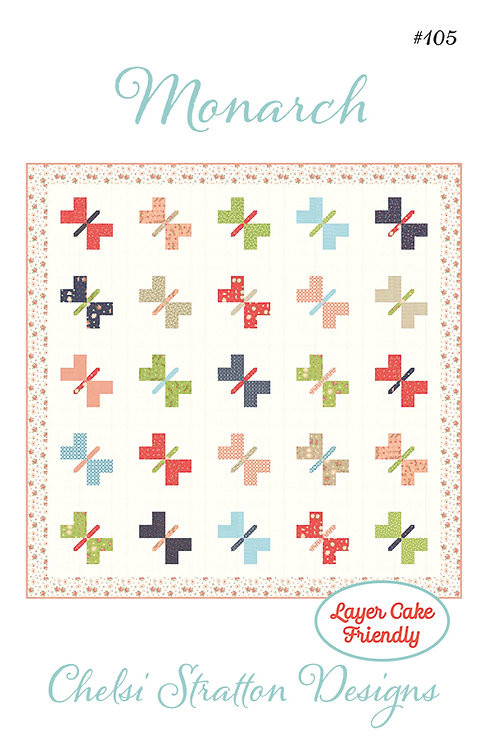 A Quilting Life MONARCH Layer Cake Pattern
