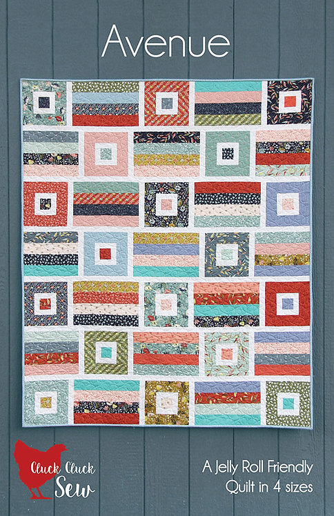 Cluck Cluck Sew AVENUE Jelly Roll Pattern