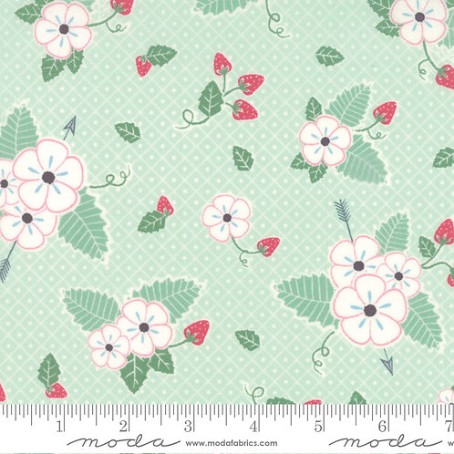 Bumble Berries 25090 15 Green Floral Moda Jungs