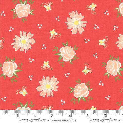 Harper's Garden 37570 15 Coral Floral Moda Sherri & Chelsi