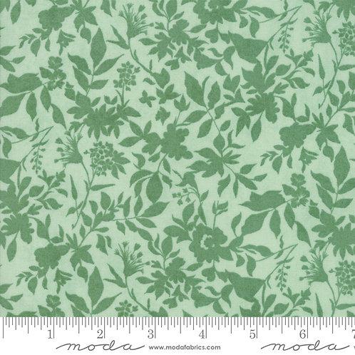 Meraki 30492 14 Green Floral Moda Basic Grey
