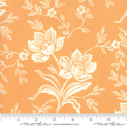 ALL HALLOW'S EVE 20350 11 Orange Floral Moda FIG TREE