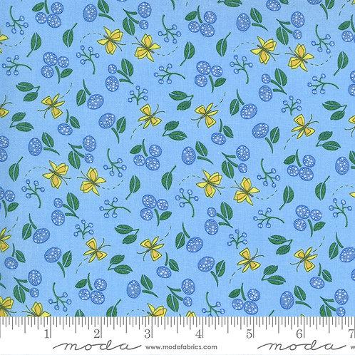 Cottage Bleu 48693 16 Mist  Moda Robin Pickens