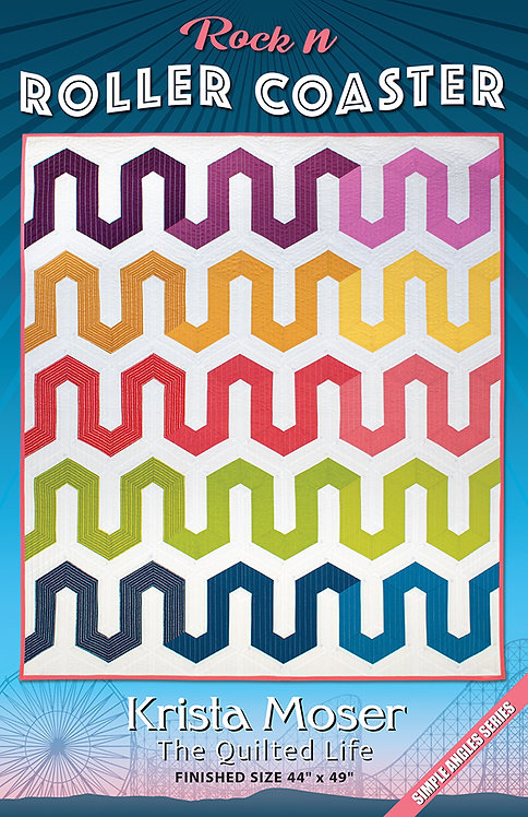 Krista Moser ROCK N ROLLER COASTER Jelly Roll Pattern