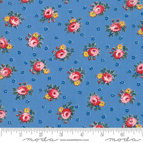 Sweet Harmony 21752 17 Blue Floral Moda American Jane