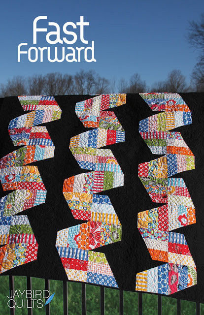 Jaybird Quilts FAST FORWARD Jelly Roll Pattern