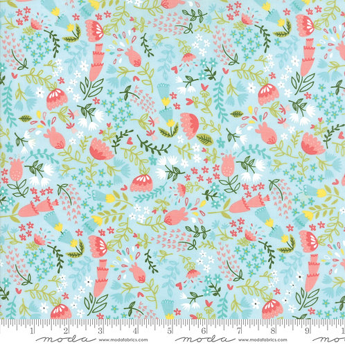 Home Sweet Home 20574 15 Turquoise Floral