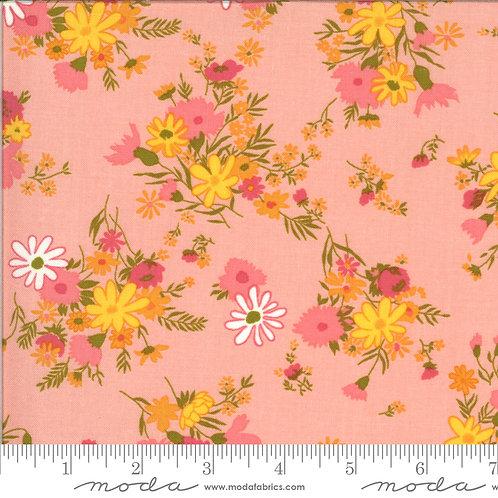 Blooming Bunch 40042 14 Pink Floral Moda Maureen McCormick