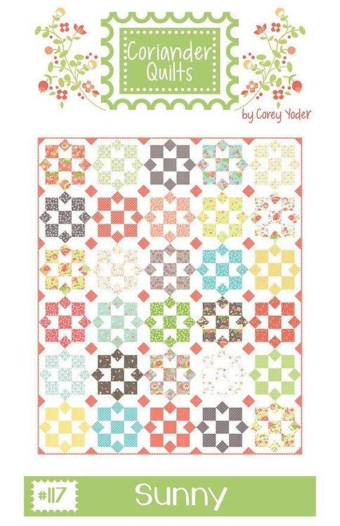 Coriander SUNNY Fat Eighths Pattern