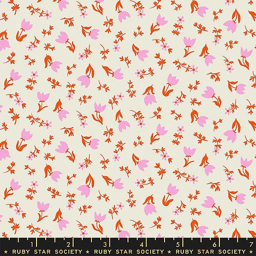 Smol RS3017 11 White Floral Moda Ruby Star