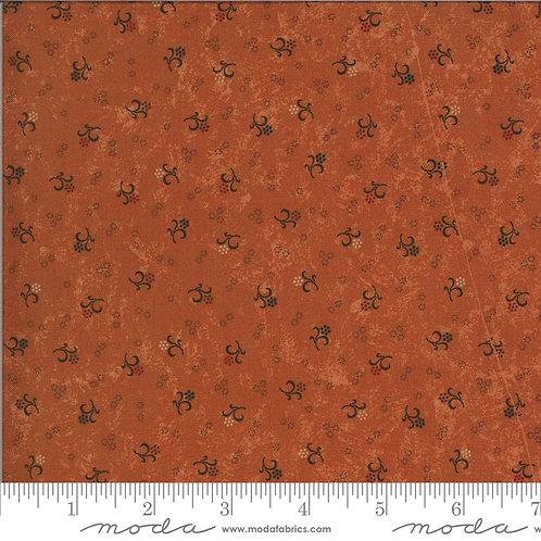 Bittersweet Lane 9644 17 Orange Floral Moda Kansas Trouble