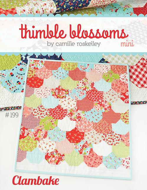 Thimble Blossoms CLAMBAKE MINI Charm Pattern