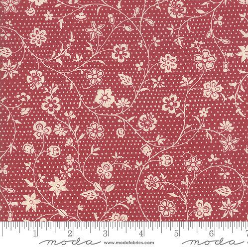 Fleur De Noel 13843 11 Red Rouge Moda French General Floral