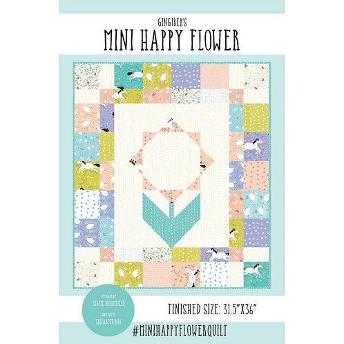 Gingiber MINI HAPPY FLOWER Charm Pattern