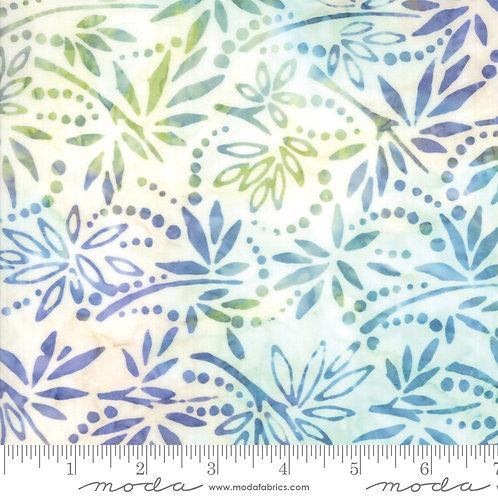 Bahama Batiks 4352 42 White Multi Floral Moda