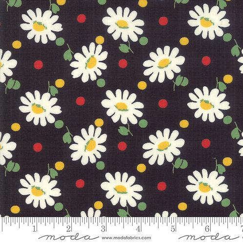 Bubble Pop 21761 21 Black Daisy Floral Moda AMERICAN JANE