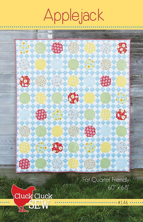 Cluck Cluck Sew APPLEJACK Fat Quarter Pattern