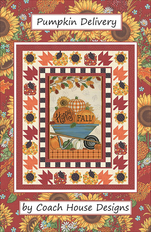 Coach House PUMPKIN DELIVERY Pattern