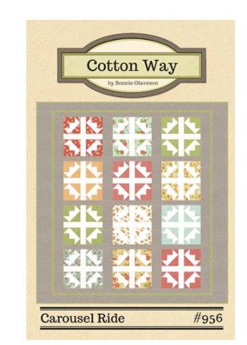 Cotton Way CAROUSEL RIDE Fat Quarter Pattern