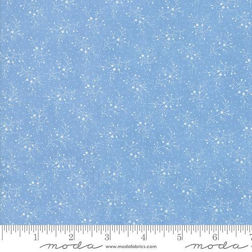 Mackinac Island 14894 14 Blue Tonal Check Moda