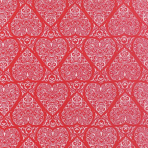 Ever After Romantic 19742 16 Red Moda Deb Strain