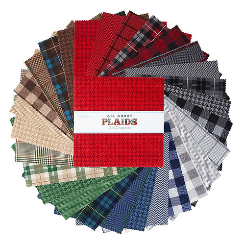"""All About Plaids Riley Blake Paper 10"""" Stacker"""
