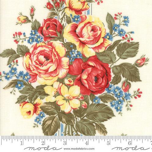 Ann's Arbor 14840 13 Ivory Floral Moda Minick & Simpson