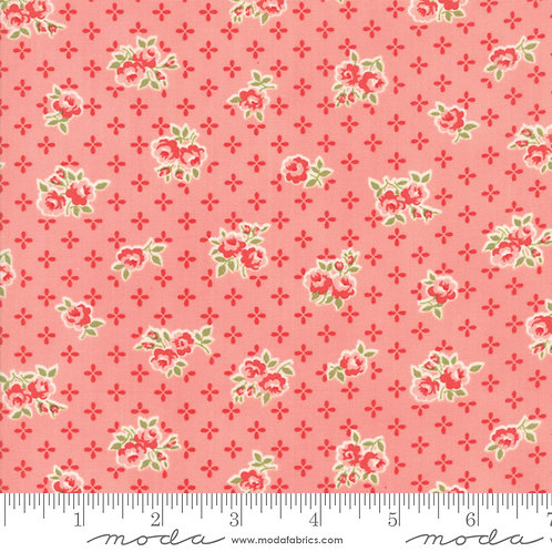 Early Bird 55191 13 Pink Floral Moda Bonnie & Camille
