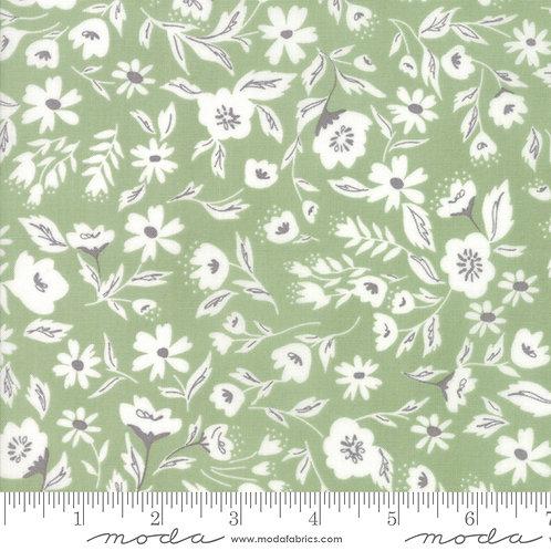 Garden Variety 5070 14 Grass Green Floral Moda Lella Boutique