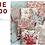 Thumbnail: Rue 1800 44220 13 Aqua Floral Moda 3 Sisters