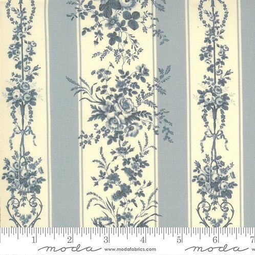 Jardin de Fleurs 13891 18 Blue Floral Moda French General