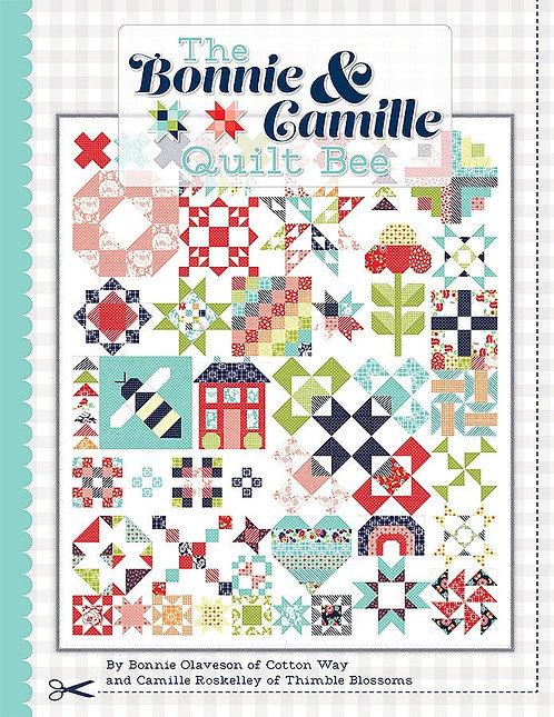 BONNIE & CAMILLE QUILT BEE Quilt Book