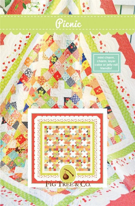 Fig Tree PICNIC Jelly Roll Layer Pattern