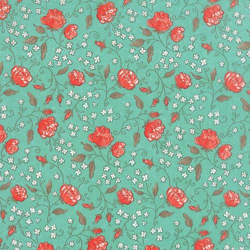 Sweetness 17851 12 Aqua Green Multi Floral Moda Sandy Gervais