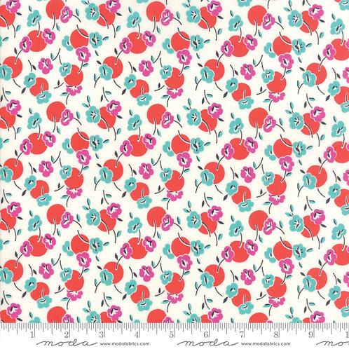 Beach Road 18132 18 Red Aqua Floral Jen Kingwell