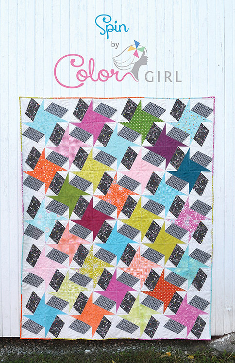 Color Girl SPIN Pattern