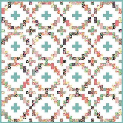 Quilt Factory ROSE CROSSING Layer Cake Pattern