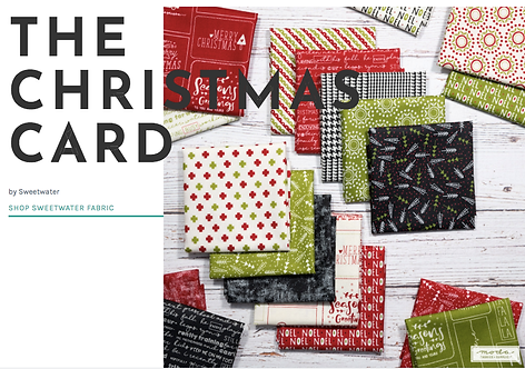 The Christmas Card Moda Sweetwater Charm Pack