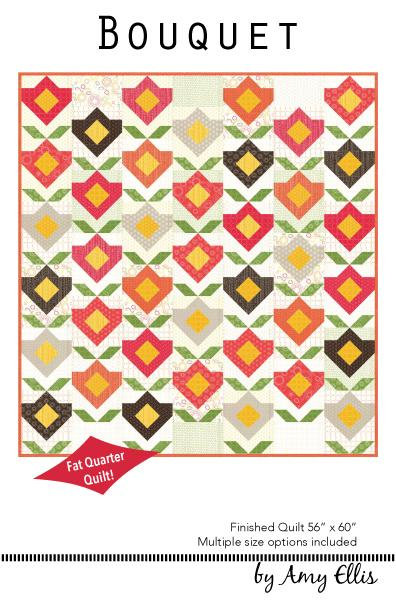 Amy Elllis BOUQUET Fat Quarter Pattern