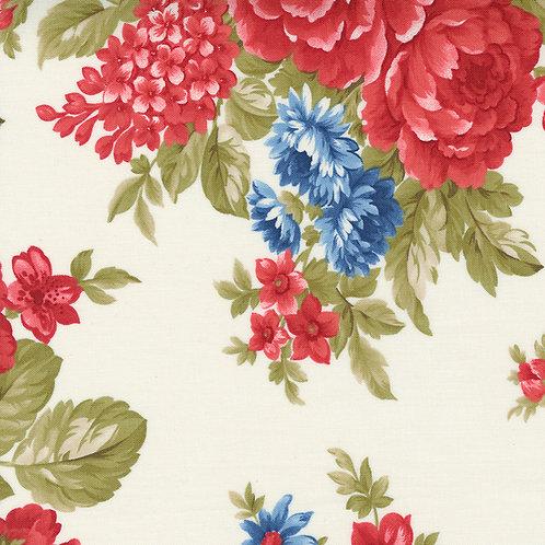 Belle Isle 14920 11  Cream Floral Minick & Simpson