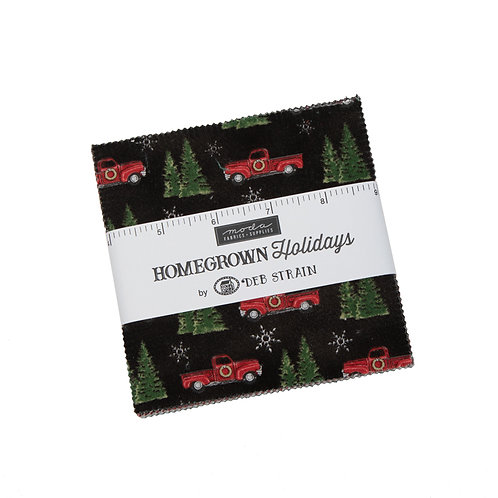 Homegrown Holidays Moda Charm Pack Deb Stain