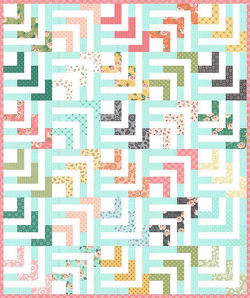 Lella Boutique BEACHCOMBER Jelly Roll Pattern