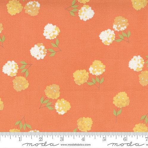 Cozy Up 29121 12 Orange Floral Moda Corey Yoder