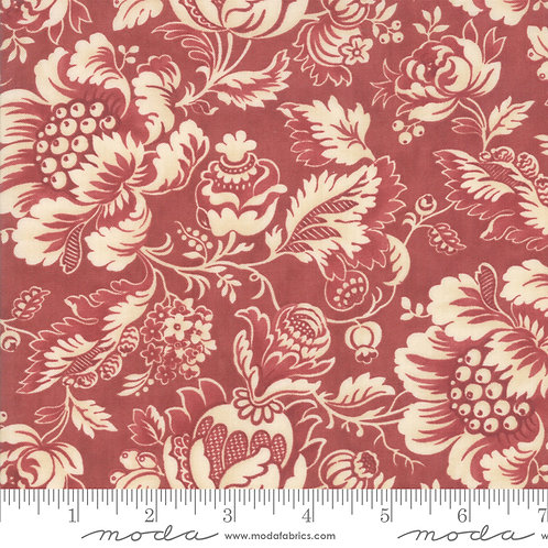 Marches De Noel 44231 12 Red Floral Moda 3 Sisters