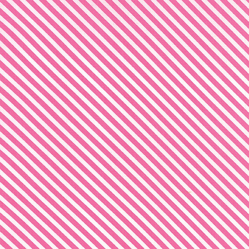 Dot Dot Dash 22267 11 Pink Stripe Moda